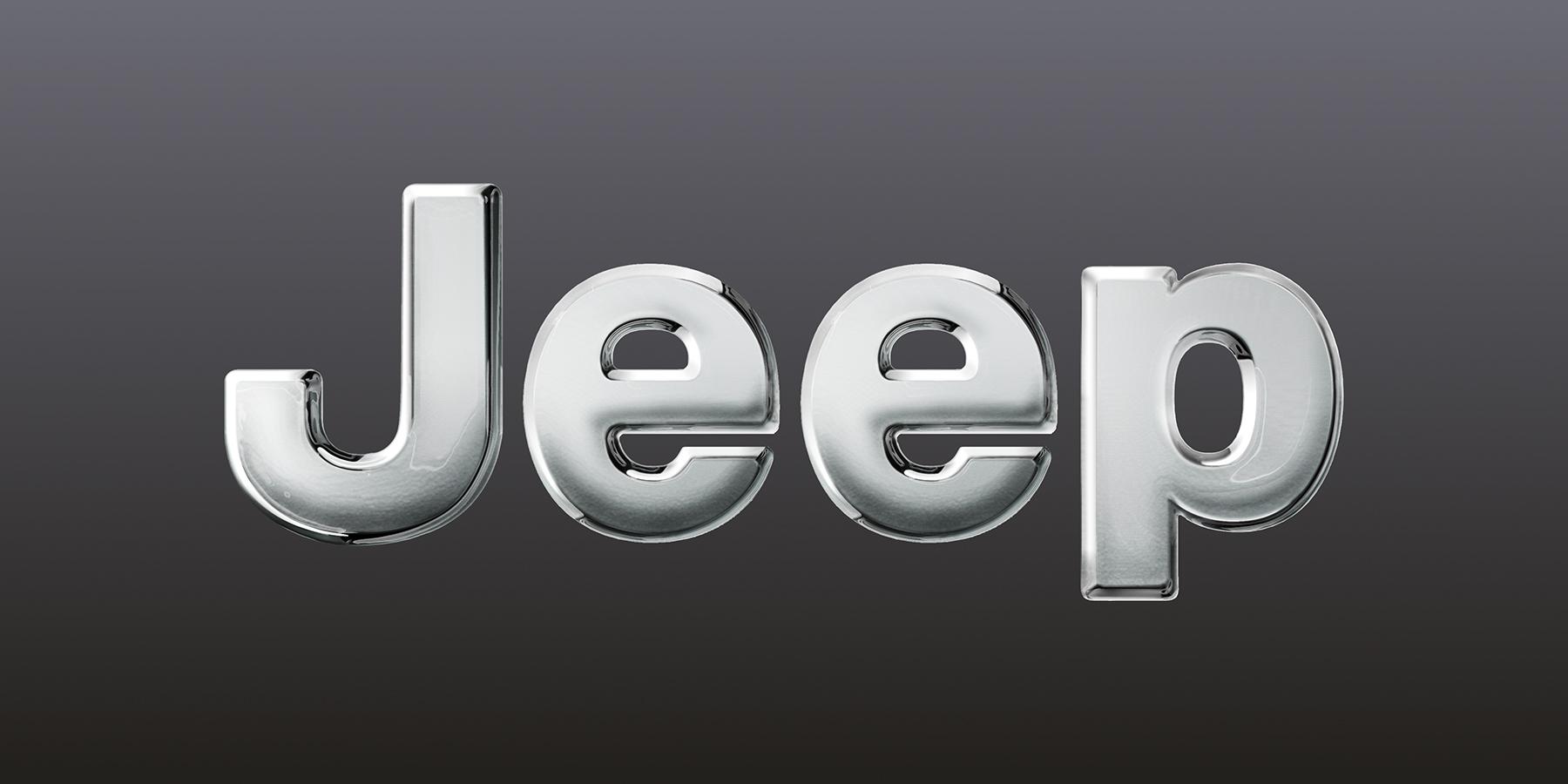 Linkaround srl – Multimedia Company | Still frame 3D logo Jeep